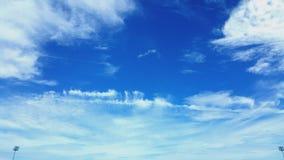 完善的天空蔚蓝 免版税图库摄影