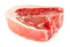 完善的小羊肉块剁 图库摄影