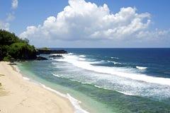 完善的海滩 图库摄影