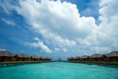 完善的热带海岛天堂海滩 免版税图库摄影