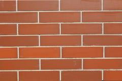 完善的红砖背景 库存照片