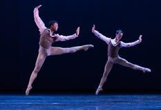完善的跃迁古典芭蕾` Austen汇集` 免版税库存图片