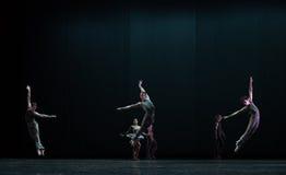 完善的跃迁古典芭蕾` Austen汇集` 库存图片