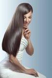 完善的头发 免版税库存图片