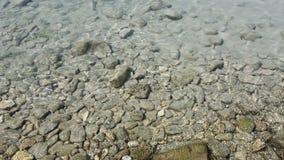 完善的水在Salento 图库摄影