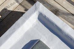 完成大厦的屋顶 免版税图库摄影