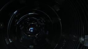 完成的塑料管子工业户外储藏地仓库  塑料水管工厂制造  股票录像