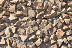 完成自然石表面 免版税库存照片