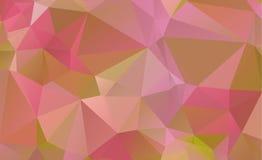 完整色彩抽象几何的背景 免版税库存照片