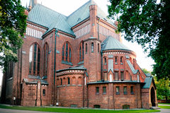完美的构想教会, Pruszkow 免版税库存照片