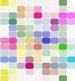 完整色彩抽象几何的背景 免版税库存图片