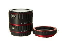 宏观增量剂透镜 库存照片