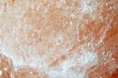 宏观桃红色水晶2 库存照片