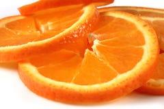 宏观橙色片式 库存图片