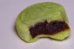 宏观点心甜中国软的蛋糕 免版税库存照片