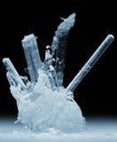 宏观的水晶 免版税库存图片