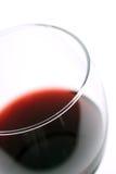 宏观红葡萄酒 免版税图库摄影