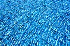 宏观蓝色海水的照片 库存照片
