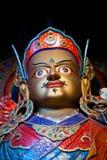 宗师Padmasabhava雕象Hemis的Gompa在Leh,拉达克,印度 库存图片