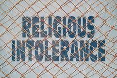 宗教不宽容 免版税库存图片