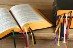 宗教书 免版税库存图片