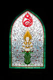 宗教亚洲图标 库存照片
