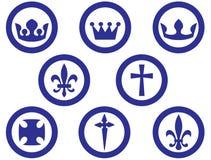 宗教信仰皇家符号 皇族释放例证