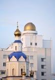 宗教信仰科学 免版税库存照片