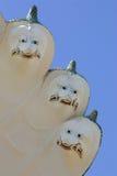 宗教信仰雕象 免版税库存照片