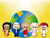 宗教信仰 库存例证