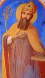 宗教古老绘画 免版税库存照片