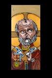 宗教古色古香的图标 免版税库存图片