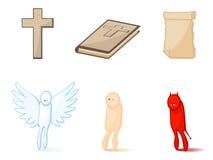 宗教图标 免版税库存照片