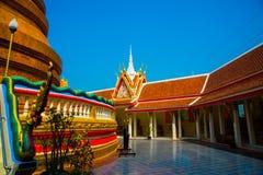 宗教复合体什么那 Wat Nong Waeng Khonkaen泰国 泰国 免版税库存图片
