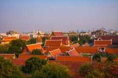 宗教寺庙在曼谷 库存照片