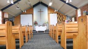 宗教教堂或葬礼服务处葬礼的 免版税库存照片