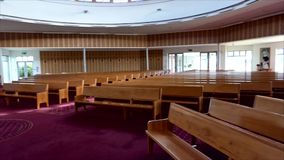 宗教教堂或葬礼服务处葬礼的 股票录像