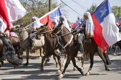 宗教智利活动 免版税图库摄影