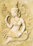宗教泰国艺术  库存照片