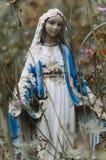 宗教玛丽雕塑 免版税图库摄影