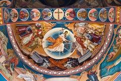 宗教绘画VII 库存图片
