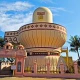 宗教艺术画廊在Bhalka蒂尔塔的 库存图片