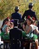 宗教节日在圣佩德罗火山de阿尔坎塔拉,马尔韦利亚 免版税库存照片