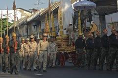 宗教队伍在泰国 库存照片
