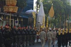 宗教队伍在泰国 免版税库存照片