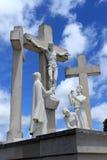 宗教雕象 库存图片