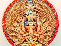 宗教雕象 免版税图库摄影