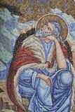 宗教马赛克 库存图片