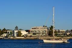 宗主海岛英属黄金海岸昆士兰澳大利亚 免版税图库摄影