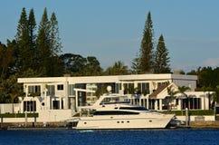 宗主海岛英属黄金海岸昆士兰澳大利亚 免版税库存照片